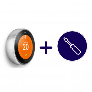 nest learning thermostat inclusief installatie sm