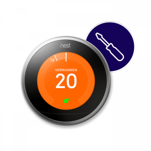 nest learning thermostat installatie sm