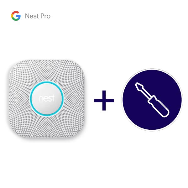 Nest Protect inclusief installatie